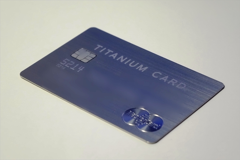 金属製クレジットカード
