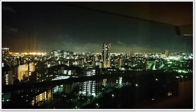 東京マリオットホテル 夜景