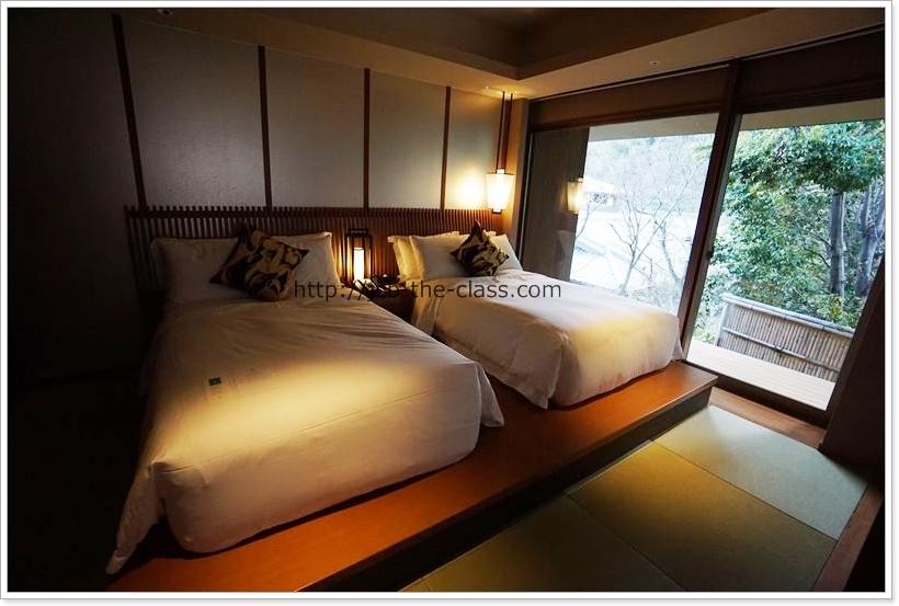 翠嵐 ラグジュアリーコレクションホテル京都スイートルーム